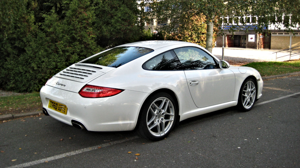 Porsche 997 Gen 2 Coupe Manual Stunning Looking Car